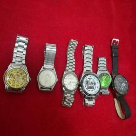 手表6块合售,品见图