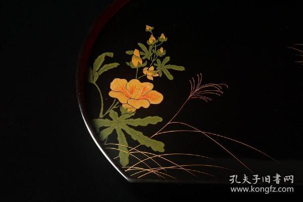 日本回流漆盘 雅趣与实用并重