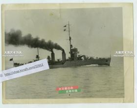 """民国1932年中华民国海军""""民权号""""炮舰,于1929年9月21日在海军江南造船所下水。后来1949年民权号炮舰加入中国人民解放军,改名长江号炮舰,曾经是毛泽东主席的座舰。"""