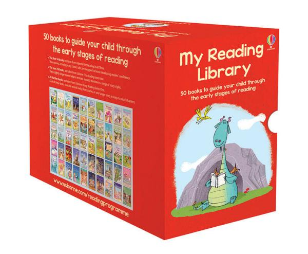 My Reading Library我的第二个图书馆套装(共50册) 英文原版