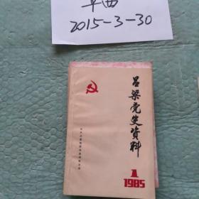 吕梁党史资料 1985年第1辑