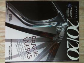 20/20 Magazine 2015/04 MARCHON原版时尚眼镜可用样板间道具杂志