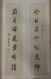 卢前(1926-2009)是一位名闻海内外的书法家、书法教育家,师从香港书坛泰斗佘雪曼先生。曾担任中国硬笔书法家协会副主席、上海师范大学书法专业兼职教授等。卢老从艺60年,工篆、楷、行、草,尤精北碑,融合了金石气与书卷气,形成了卢氏魏碑的独特风采。出版字帖50余种,由上海大学出版社出发的《卢前钢笔临百家碑帖丛帖》填补了书法史上的空白。其硬笔书法堪称一代大师。