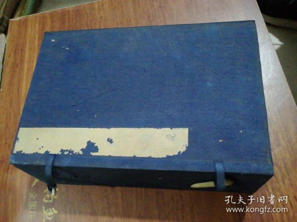 老线装书旧函套1个、24X16X7CM