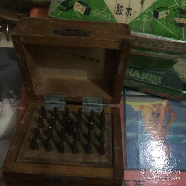 70年代 钟表 眼镜 修理工具 一盒