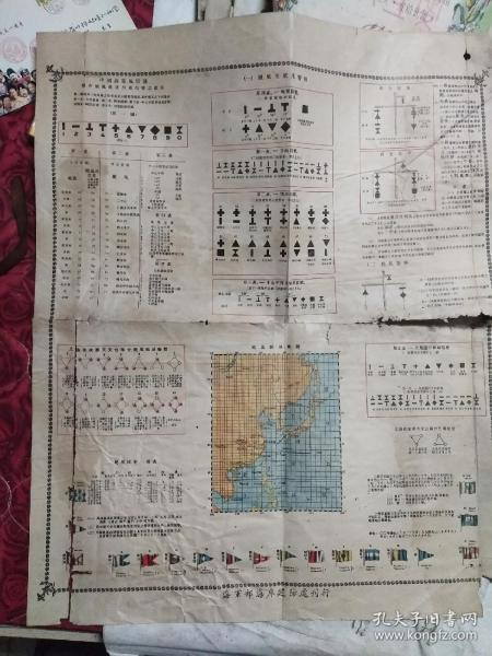 民国海军地图