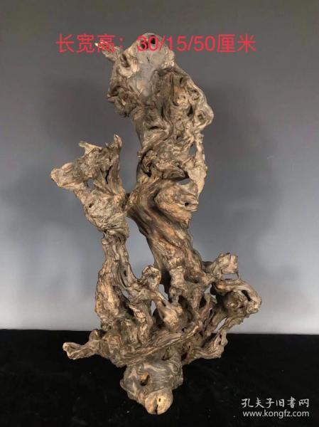 檀木根雕,根雕艺术自然美,包浆自然厚重,30/15/50厘米