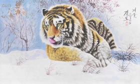 白虎创作社 油画 朝鲜油画 特价