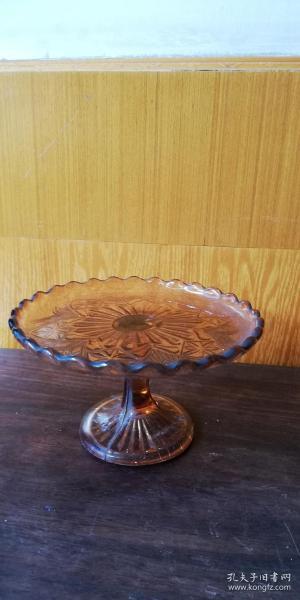 老玻璃果盘 —— 全品一个!