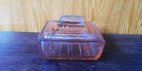 老玻璃 肥皂盒 —— 好品一个!