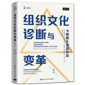 组织文化诊断与变革第三版