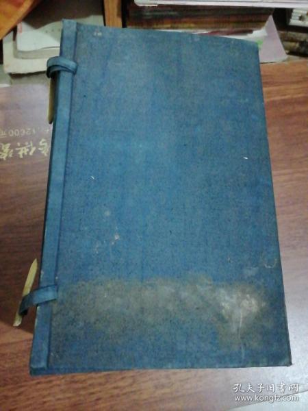 老线装书旧函套1个、26X16.5X13.5CM
