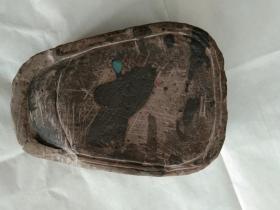 扇形石砚台(包邮)
