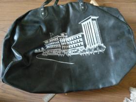 怀旧收藏七八十年代人造革合成革手提包