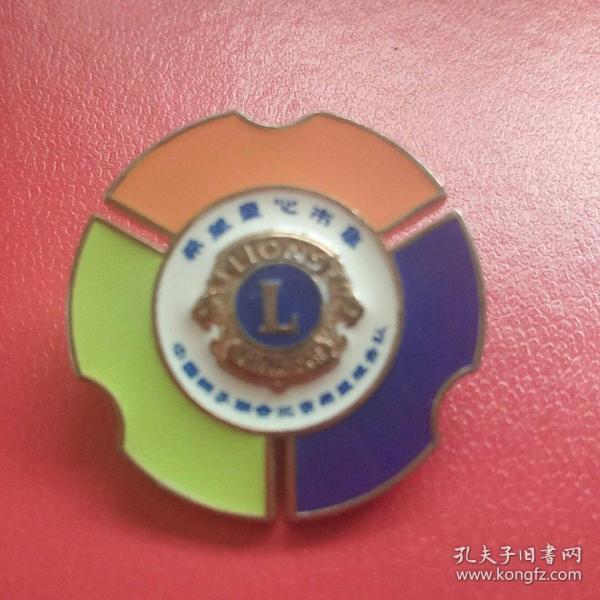 希望童心市集 中国狮子联会北京希望服务队徽章