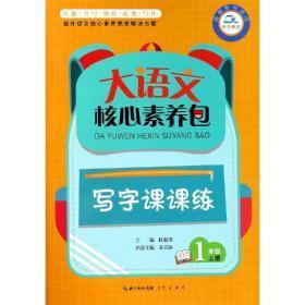 大语文核心素养包 写字课课练 1年级上册
