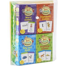 牛津阅读树练习册 ORT Lv1-3Activity Sticker Flahcard Pack 等级1-3自然拼读与阅读技巧 牛津闪卡 送贴纸 套装【4册4套】