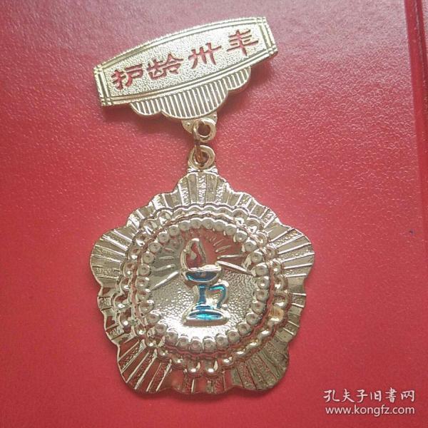 中华人民共和国卫生部颁发 国际护士节 护龄卅年铜镀金奖章