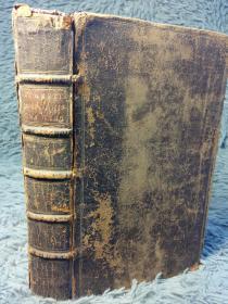 1734年 BISHOP BURNETS HISTORY OF HIS OWN TIME  20.5X12.5CM