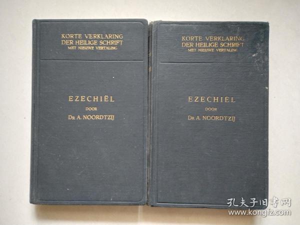 de profeet ezechiel Ⅰ Ⅱ  1957