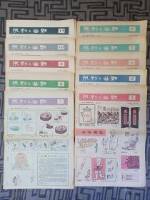 【包邮】讽刺与幽默(1986年全年20期合售;缺第3,20,22,24期)【书友注意:因工作 原因;订单只在周六或周日发  货 】 在书橱顶上