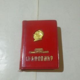 红宝书:毛泽东思想胜利万岁(红塑封皮 毛像5张 毛林合影1张,林彪题字5张)