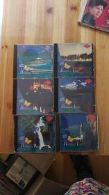 CD:松青唱片,浪漫小提琴6盘一套全