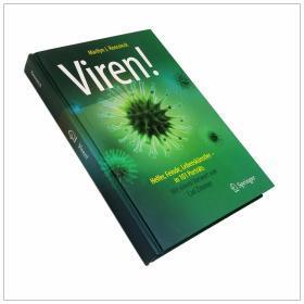 Viren!: Helfer, Feinde, Lebenskünstler - in 101 Porträts 病毒图谱图集!:帮手,敌人,艺术家-101张画像  德语原版
