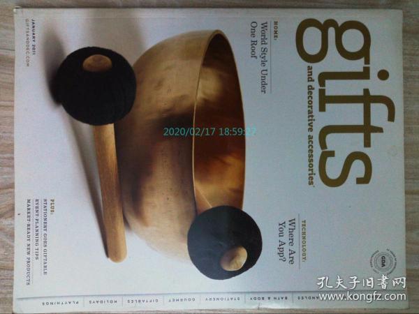 Gifts and Decorative Accessories 2011/01 美国礼品与饰品杂志