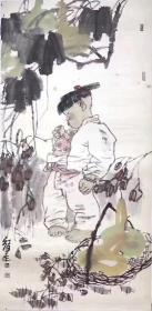 [保真]要红宇   1955年生,现为中国美协会员,内蒙古美协理事,包头美协副主席。