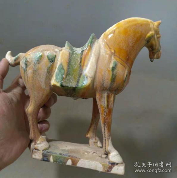 唐三彩生肖战马