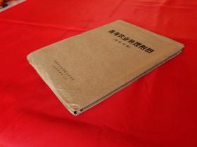 青海农业地理附图(全五幅,好品)