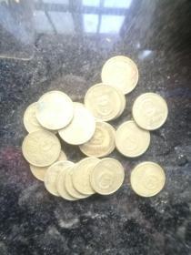 梅花五毛硬币