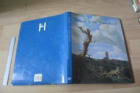 Jacob van Ruisdael de revolutie van Hollandse Landschap 【荷兰语原版 荷兰巴洛克风景画家 硬精装带书衣 大16开铜版彩印品好 罕见】