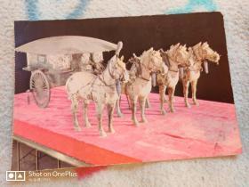 明信片:修复后的铜马车