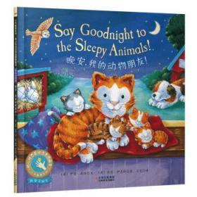 正版现货 童立方小手触摸系列幼儿互动启蒙图画书:晚安,我的动物朋友!  爱德伊夫斯 绘 云南美术出版