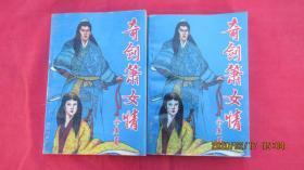 奇剑箫女情(上中册)