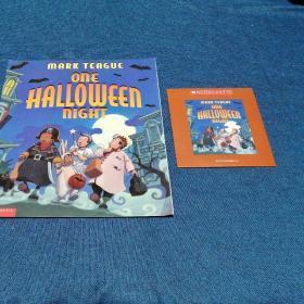 Scholastic + AUDIO CDMark Teague one Halloween nightMake Teague firehouseThe three little Pigs and the somewhat bad wolf一套三本含光盘
