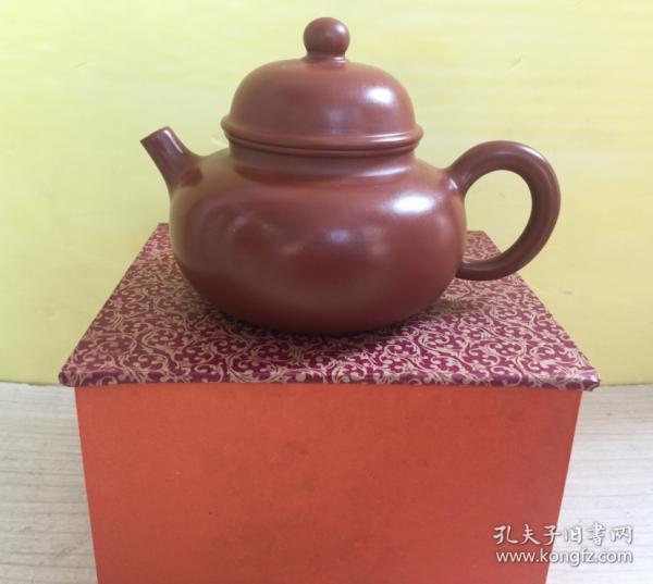 收到原矿大红袍紫砂壶一个、