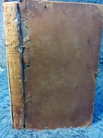 1832年  M. TULLII CIERONIS   DE OFFICIIS   1本全    语言不详  CICEROS MINOR PHILOSOPHICAL WORKS 18X11CM