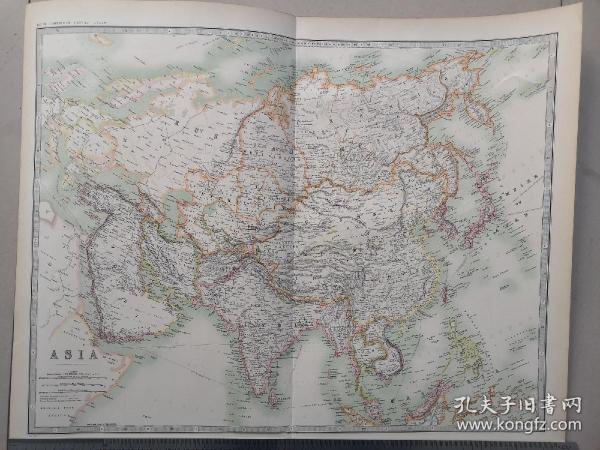 清朝地图 古地图  大清地图 中国地图