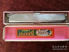 罕见,多网唯一,世界口琴第一品牌,HOHNER-ORCHESTER,德国产,二战时期,木心口琴,c调。口琴配原包装盒,特别难见!
