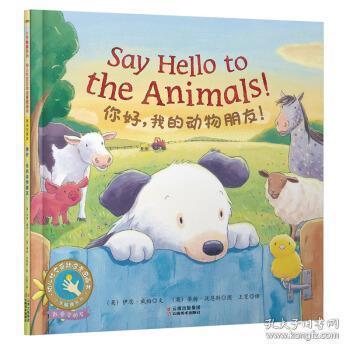 正版现货 童立方小手触摸系列幼儿互动启蒙图画书:你好,我的动物朋友!  伊恩威柏 云南美术出版社 9787548935506 书籍