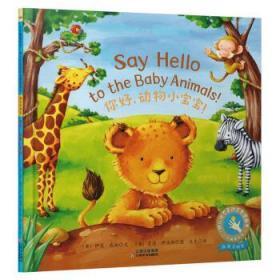 正版现货 童立方小手触摸系列幼儿互动启蒙图画书:你好,动物小宝宝!  爱德伊夫斯 绘 云南美术出版社