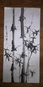 手绘真迹国画:陈静花鸟画13(2尺x1尺)