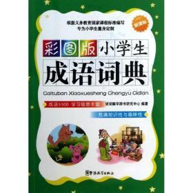 彩图版小学生成语词典 汉语工具书 说辞解字辞书研究中心  新华正版