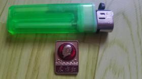 毛主席像章:纪念章(东方红)直径2.2cmX1.5 cm保真包老