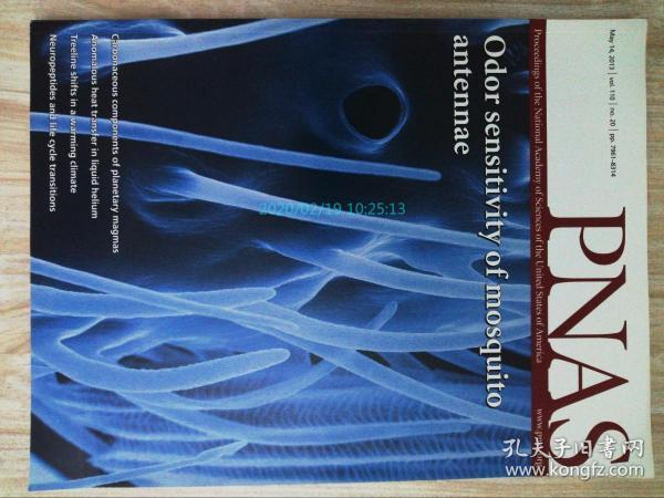 PNAS 2013/05/14 美国国家科学院院刊学术论文原版期刊外文杂志  Proceedings of the National Academy of Sciences of the United States of America
