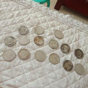 工艺品银元15枚售300元