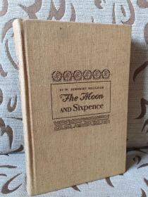 The Moon and Sixpence by Somerset Maugham -- 毛姆《月亮与六便士》Frederic Dorr Steele 和 Paul Gauguin 精美插,Heritage 1941年出品